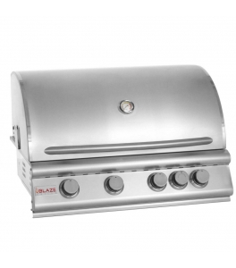 "32"" 4 Burner Built In Grill Head NG"
