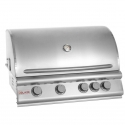 "Blaze 32"" 4 Burner Built In Grill Head NG"