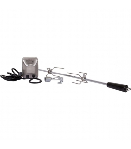 Rotisserie Kit for BLZ-3/4 (Spit, Forks, Motor)