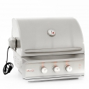 "Blaze 27"" 2 Burner PRO Built In Grill Head NG"