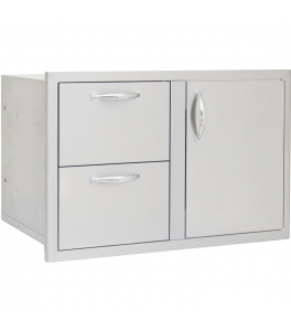 "Door and Double Drawer Combo (21""h x 32""w)"