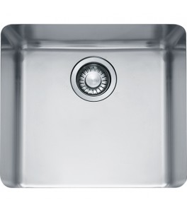 "Franke Kubus KBX110-18 Stainless Steel 18"" single bowl undermount sink"