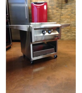 """Alfresco 24"""" Versa Power Cooking System with Cart"""