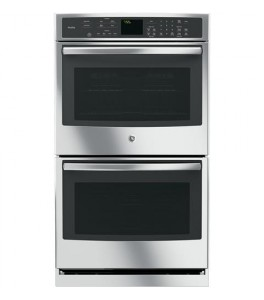 "GE Monogram 30"" Double Wall Oven PT7550SF1SS"