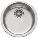 "Franke 17"" RBX110 'Rotondo' Stainless Steel Single Bowl Sink Undermount/Topmount"