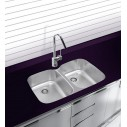 Ukinox D3765050 Undermount Double Bowl Kitchen Sink