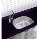 Ukinox D5378020L Undermount Double Stainless Steel Sink