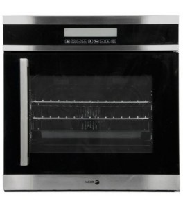 Fagor 6HA-200TRX Convection Wall Oven with Right Hinge, Touch Controls/4 Cooking Programs, 24-Inch
