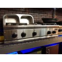 """DCS 30"""" Gas Rangetop CS364GLSS 4 sealed burners and griddle"""