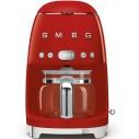 """Smeg DCF01RDUS 10"""" 50s Retro Style Series Drip Filter Coffee Machine"""