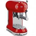 Smeg 50's Retro Design ECF01RDUS 50's Retro Style Espresso Coffee Machine