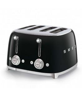 Smeg 50's Retro Design TSF03BLUS 4x4 Slot Toaster