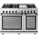 """Superiore RN482GPSS NEXT 48"""" Panorama Stainless steel Natural Gas Range"""
