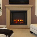 SimpliFire SF-BI30-EB 30 inch Electric Fireplace Built-In