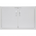 """Blaze 32 Inch Double Access Door With Paper Towel Dispenser (22""""h x 32""""w)"""
