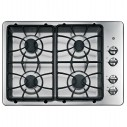 "GE 30"" Built-In Gas Cooktop JGP329SET1SS"