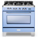 Verona Classic Series VCLFSGE365BL 36 Inch Pro-Style Dual-Fuel Range
