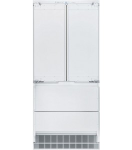 Liebherr HC2082 36 Inch Built-In Panel Ready 4-Door French Door Refrigerator