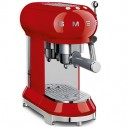 Smeg 50's Retro Design ECF01RDUS 50's Retro Style Espresso Coffee Machine