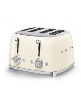 Smeg 50's Retro Design TSF03CRUS 4x4 Slot Toaster