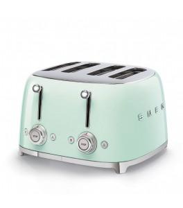 Smeg 50's Retro Design TSF03PGUS 4x4 Slot Toaster