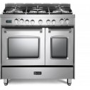 Verona VPFSGE365DSS Prestige Series 36 Inch Freestanding Dual Fuel Range with Natural Gas