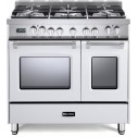 Verona VPFSGE365DW Prestige Series 36 Inch Freestanding Dual Fuel Range with Natural Gas